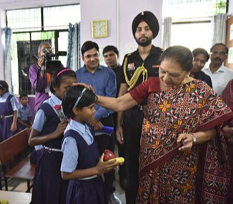 Governor and Chief Minister gifted bicycles and other sports equipment to children